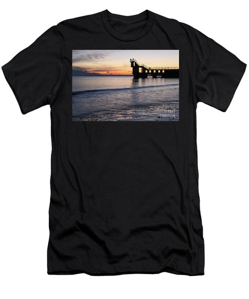 After Sunset Blackrock 2 Men's T-Shirt (Athletic Fit)