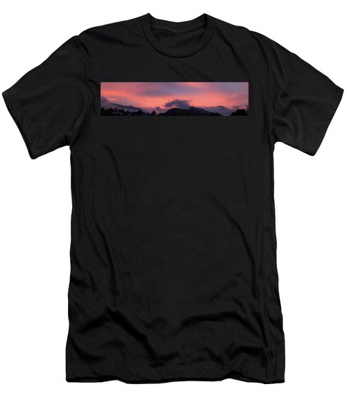 After Sunset - Panorama Men's T-Shirt (Athletic Fit)