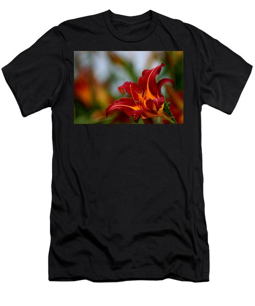 After The Rain Came The Flowers  Men's T-Shirt (Athletic Fit)