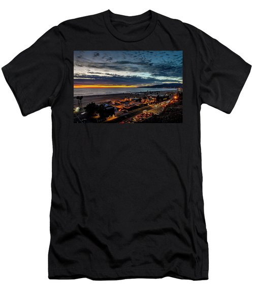 After The Storm And Rain  Men's T-Shirt (Athletic Fit)