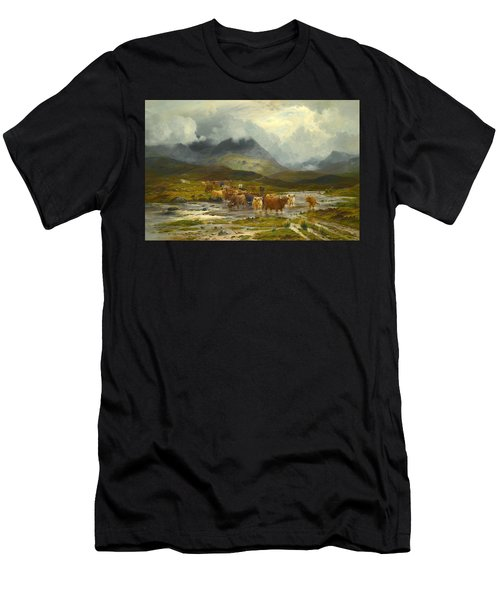 After The Storm. Glen Dochart. Perthshire Men's T-Shirt (Athletic Fit)