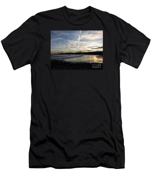 After The Storm In 2016 Men's T-Shirt (Slim Fit) by Marcia Lee Jones
