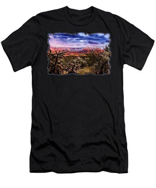After The Storm No58 Men's T-Shirt (Athletic Fit)