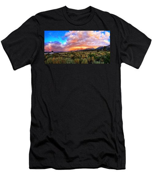 After The Storm Panorama Men's T-Shirt (Athletic Fit)