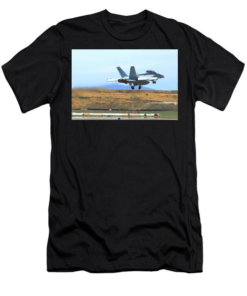 Afterburner On Gear Up Men's T-Shirt (Athletic Fit)