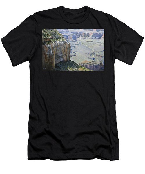Afternoon At The Canyon Men's T-Shirt (Athletic Fit)