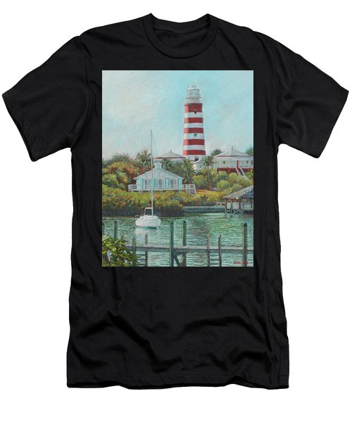 Afternoon In Hope Town Men's T-Shirt (Athletic Fit)