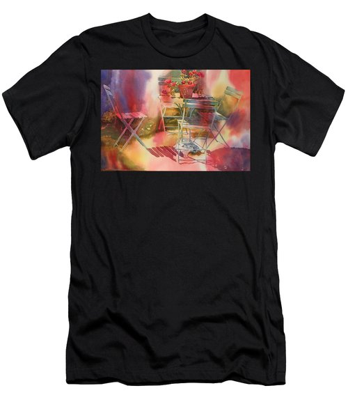 Afternoon Light Giverny, France Men's T-Shirt (Athletic Fit)
