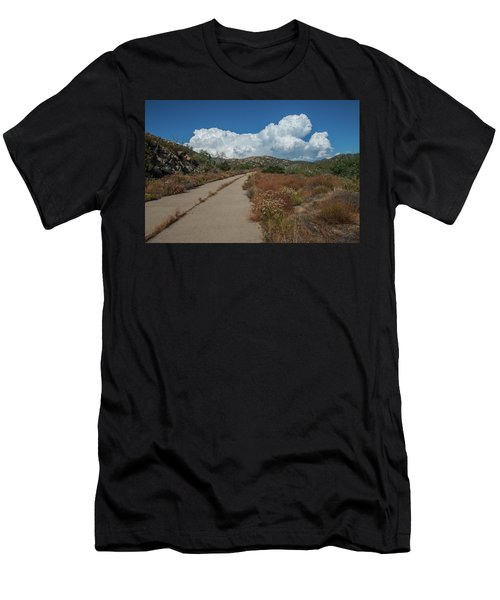 Afternoon, Old Road Men's T-Shirt (Athletic Fit)