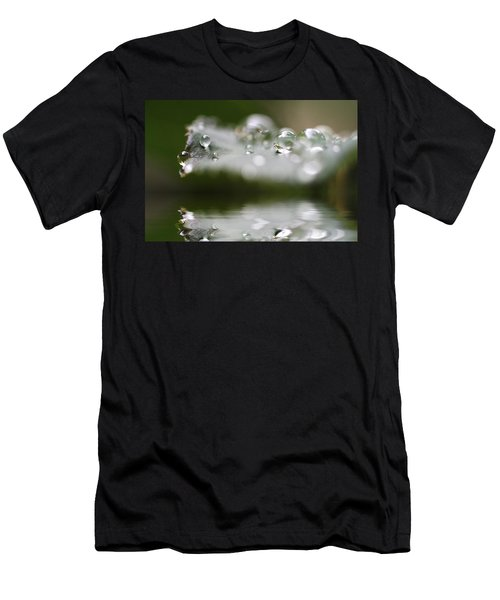 Afternoon Raindrops Men's T-Shirt (Athletic Fit)
