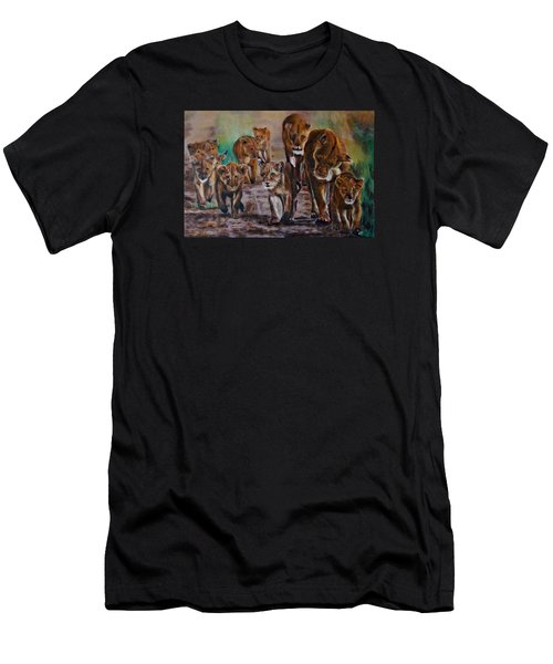 Afternoon Stroll Men's T-Shirt (Slim Fit) by Maris Sherwood