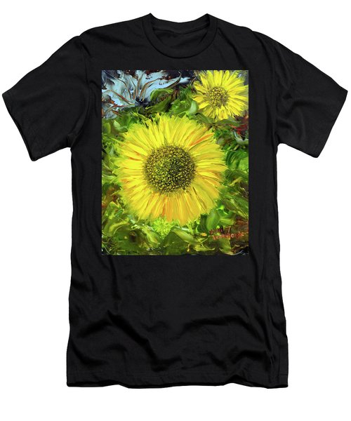 Afternoon Sunflowers Men's T-Shirt (Athletic Fit)