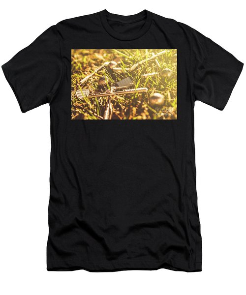 Afternoon Tea Off  Men's T-Shirt (Athletic Fit)