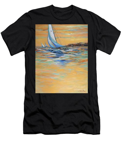 Afternoon Winds Men's T-Shirt (Athletic Fit)