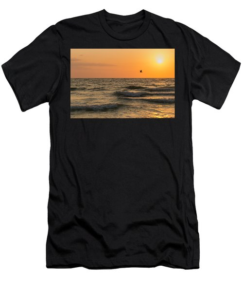 Against The Wind Men's T-Shirt (Athletic Fit)