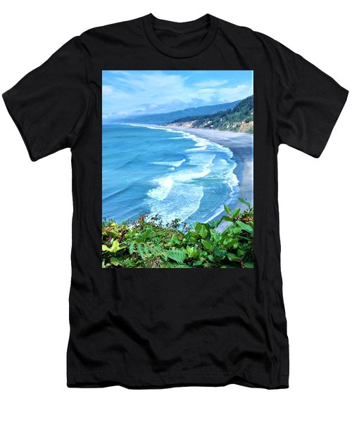 Agate Beach Men's T-Shirt (Athletic Fit)