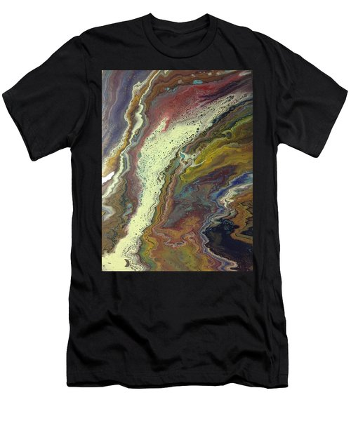 Agate Waterfall Men's T-Shirt (Athletic Fit)