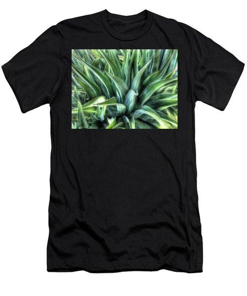 Men's T-Shirt (Athletic Fit) featuring the photograph Agave by Lynn Geoffroy