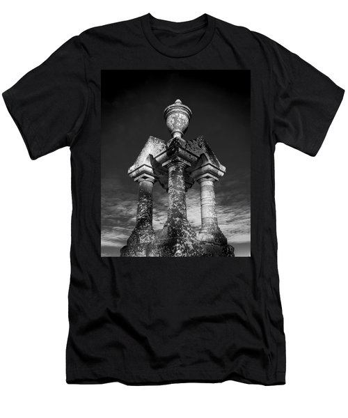 Aged Stone And Sky Men's T-Shirt (Athletic Fit)