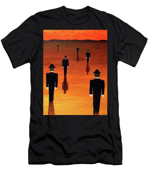 Agents Orange Men's T-Shirt (Athletic Fit)