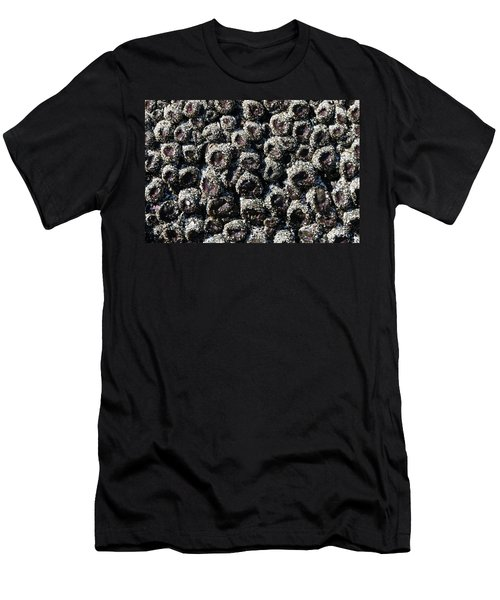 Aggregating Anemones  Men's T-Shirt (Athletic Fit)