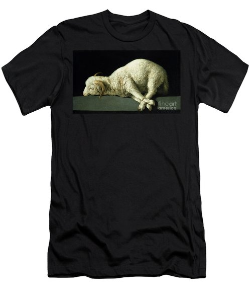 Agnus Dei Men's T-Shirt (Athletic Fit)