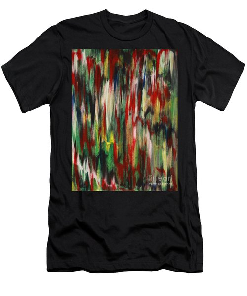 Men's T-Shirt (Slim Fit) featuring the painting Agony by Jacqueline Athmann