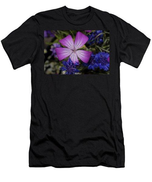 Agrostemma Men's T-Shirt (Athletic Fit)