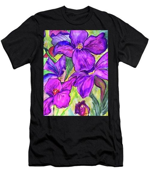 Ah, Iris Men's T-Shirt (Athletic Fit)