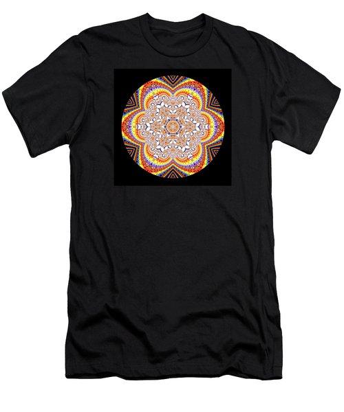 Men's T-Shirt (Athletic Fit) featuring the digital art Ahau 6.2 by Robert Thalmeier