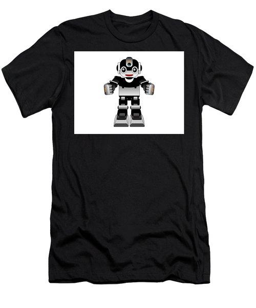 Ai Robot Men's T-Shirt (Athletic Fit)