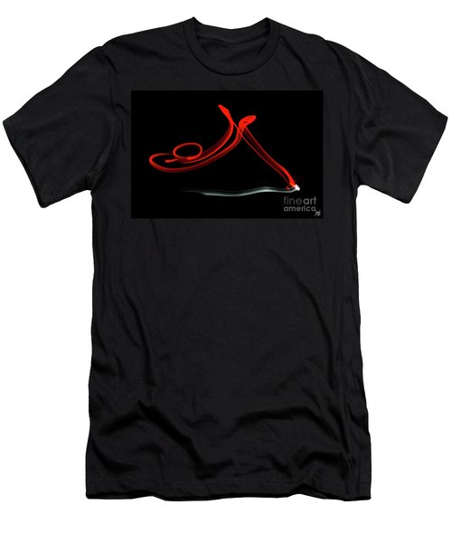 Aikido - Shihonage, Omote Men's T-Shirt (Athletic Fit)