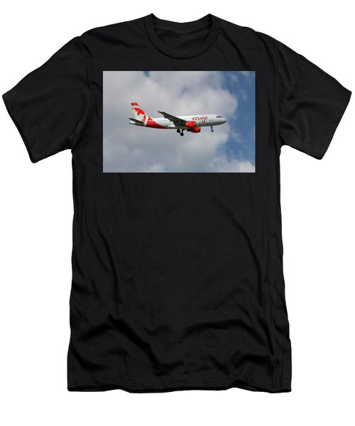 Air Canada Rouge Airbus A319-114 5 Men's T-Shirt (Athletic Fit)