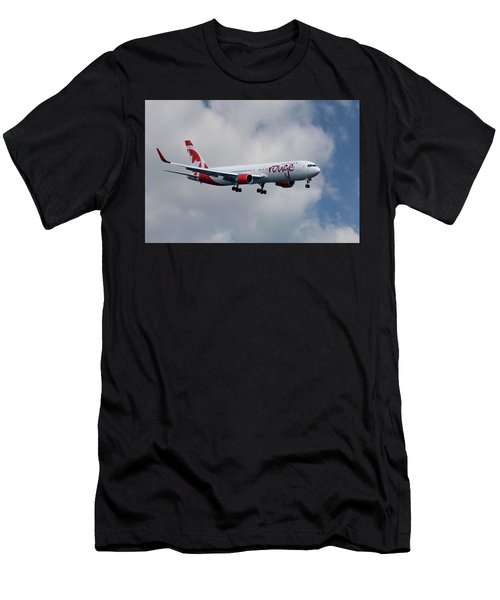 Air Canada Rouge Boeing 767-333 5 Men's T-Shirt (Athletic Fit)
