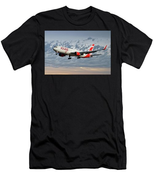 Air Canada Rouge Boeing 767-333 113 Men's T-Shirt (Athletic Fit)