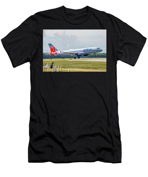 Airbus A320 Boston Strong Men's T-Shirt (Athletic Fit)