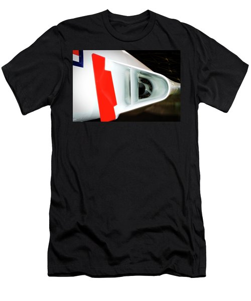 Airplanes Military F101b Voodoo Jet Engine Intake Men's T-Shirt (Athletic Fit)