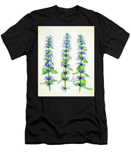 Ajuga Blooms Men's T-Shirt (Athletic Fit)