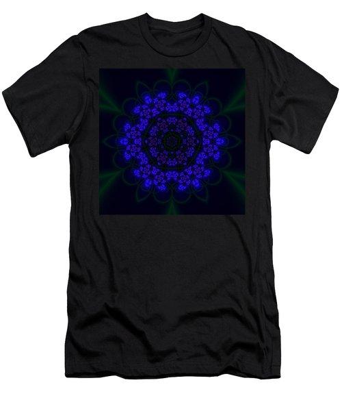 Akabala Lightmandala Men's T-Shirt (Slim Fit) by Robert Thalmeier