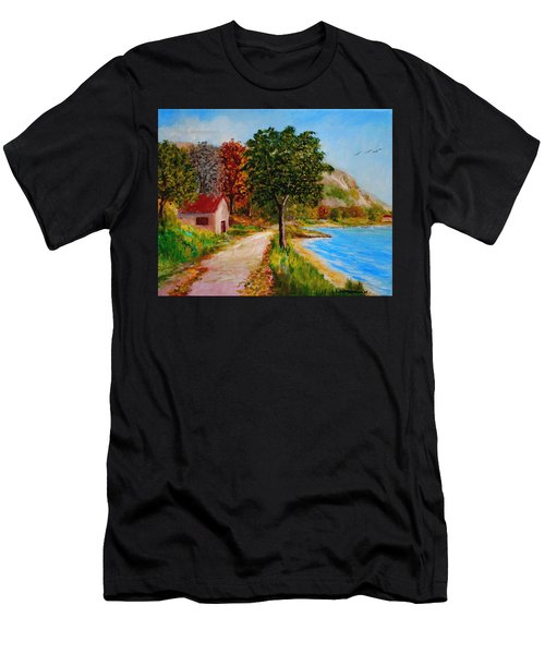 Akronafplia Men's T-Shirt (Athletic Fit)