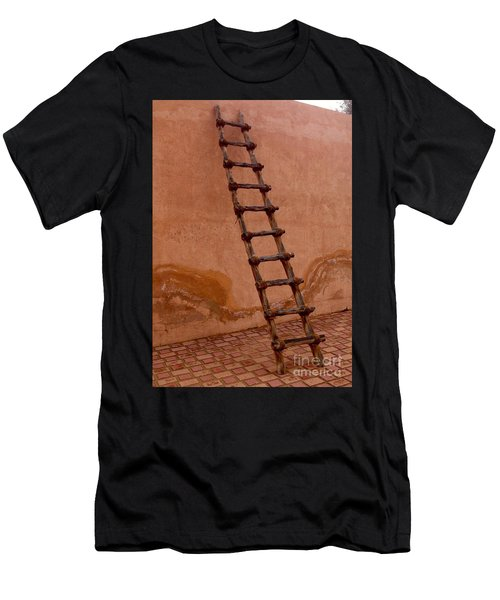 Men's T-Shirt (Athletic Fit) featuring the photograph Al Ain Ladder by Barbara Von Pagel