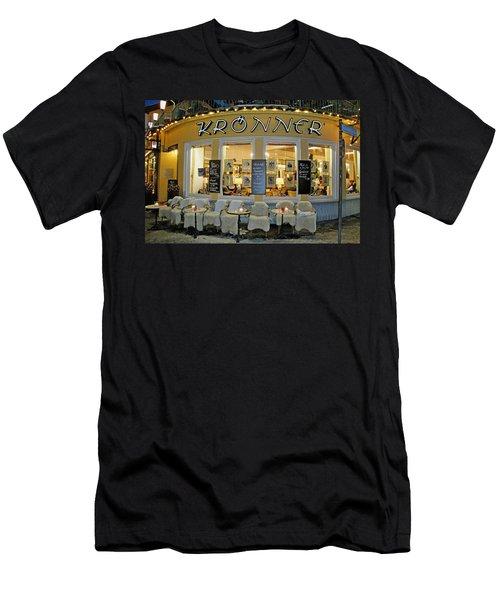 Al Fresco Dining Bavarian Style Men's T-Shirt (Athletic Fit)