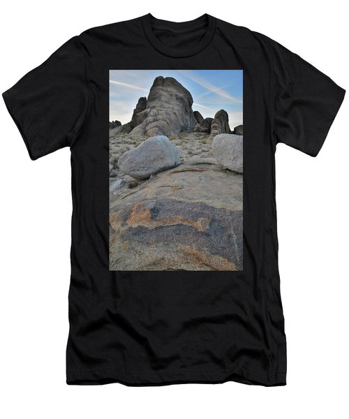 Alabama Hills Boulders At Dusk Men's T-Shirt (Athletic Fit)