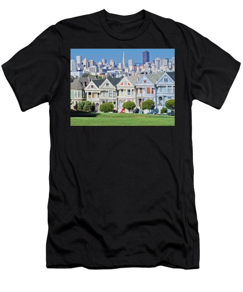 Alamo Square Men's T-Shirt (Athletic Fit)
