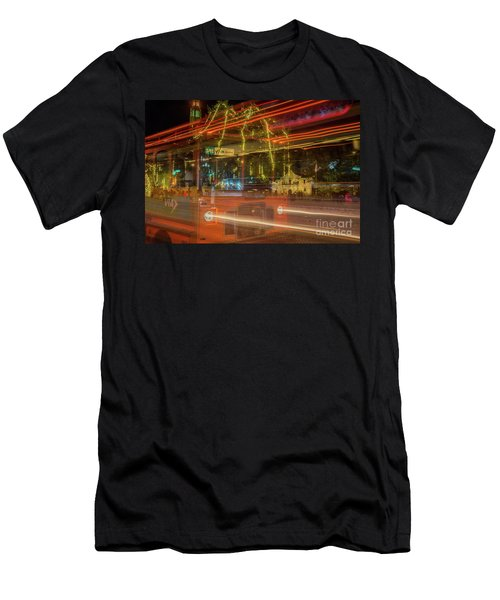 Alamo Via Streetcar Men's T-Shirt (Athletic Fit)