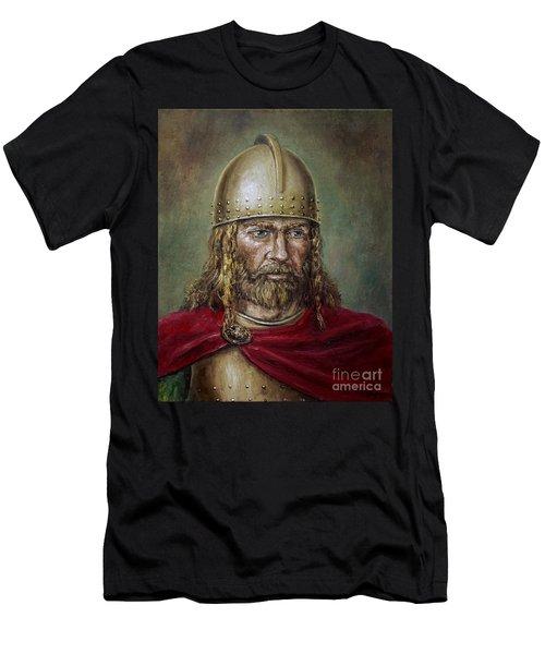 Alaric The Visigoth Men's T-Shirt (Slim Fit) by Arturas Slapsys