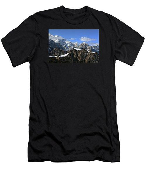 Alaska Mountain Range Men's T-Shirt (Athletic Fit)