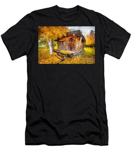 Alaskan Autumn Men's T-Shirt (Athletic Fit)