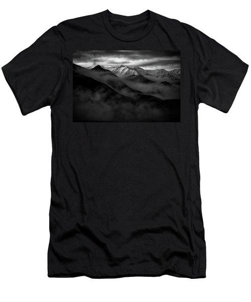 Alaskan Peak In The Shadows Men's T-Shirt (Athletic Fit)