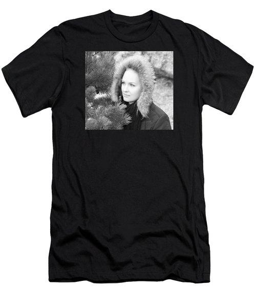 Alaskan Portrait Men's T-Shirt (Athletic Fit)